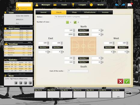 Basketball Pro Management 2014 on PC screenshot #2