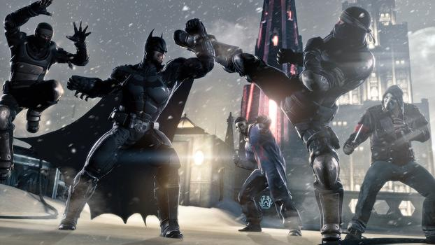 Batman Arkham Origins (NA) on PC screenshot #2