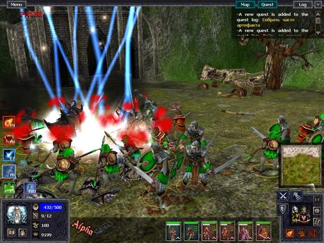 Battle Mages: Sign of Darkness on PC screenshot #3