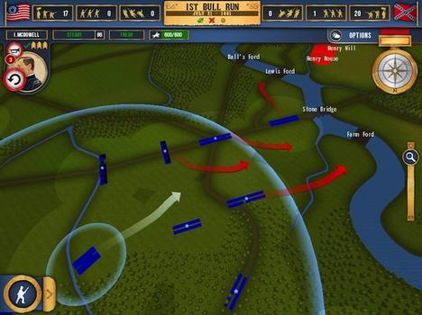 Battleplan: American Civil War on PC screenshot #1