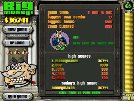 Big Money (NA) on PC screenshot #3