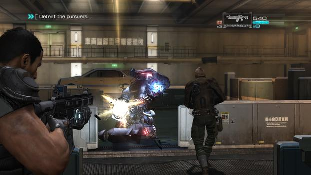 Binary Domain on PC screenshot #5