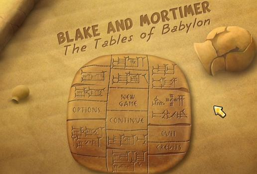 Blake & Mortimer The Tables of Babylon on PC screenshot #5