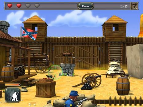 The Bluecoats - North vs South on PC screenshot #5