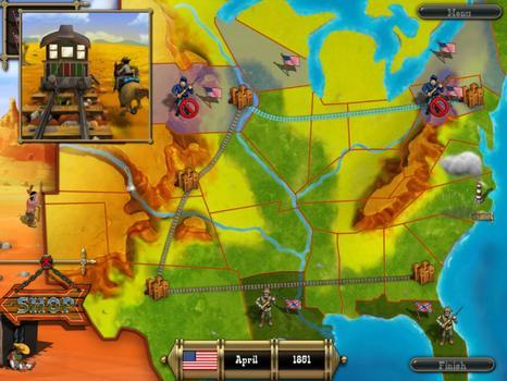 The Bluecoats - North vs South on PC screenshot #1