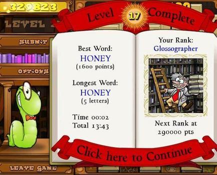 Bookworm Deluxe (NA) on PC screenshot #4