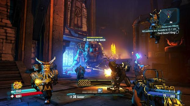 Borderlands 2: Tiny Tina's Assault on Dragon Keep on PC screenshot #3