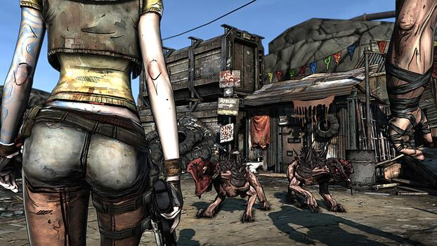 Borderlands Game of the Year Edition on PC screenshot #1
