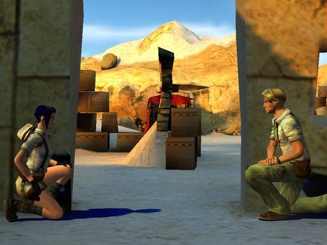 Broken Sword 3 - the Sleeping Dragon on PC screenshot #2