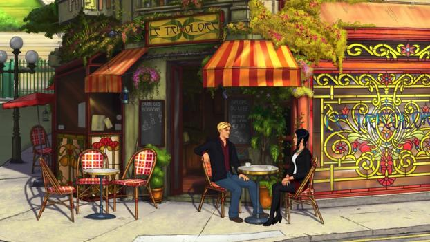 Broken Sword 5 - the Serpent's Curse on PC screenshot #1