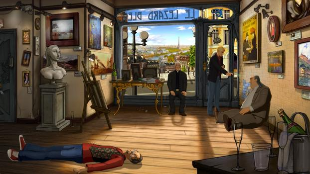 Broken Sword 5 - the Serpent's Curse on PC screenshot #2