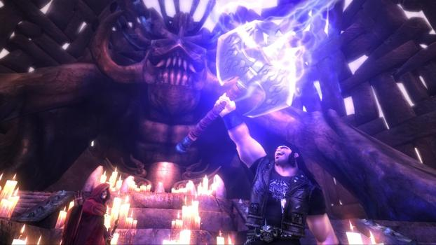 Brutal Legend on PC screenshot #1
