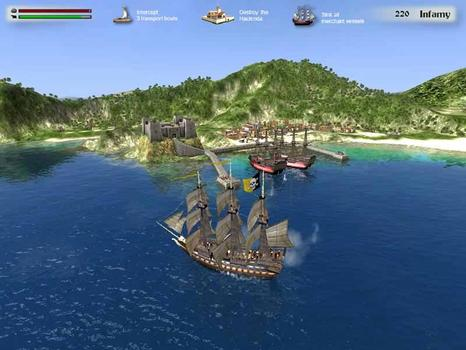 Buccaneer: The Pursuit of Infamy  on PC screenshot #3