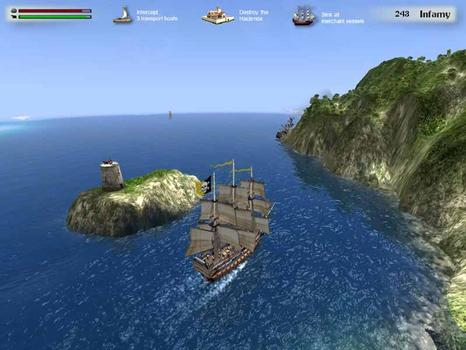 Buccaneer: The Pursuit of Infamy  on PC screenshot #4