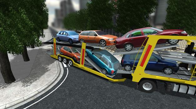 Car Transport Simulator on PC screenshot #2