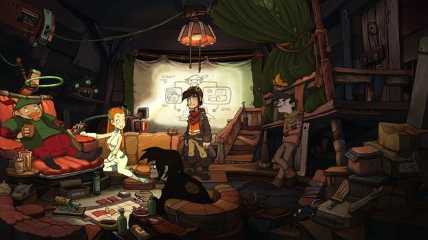 Chaos on Deponia on PC screenshot #1