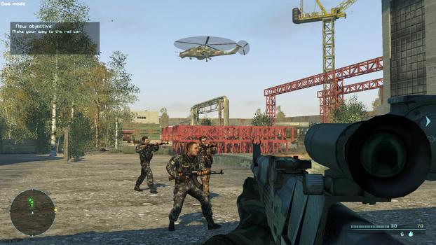 Chernobyl Commando on PC screenshot #1