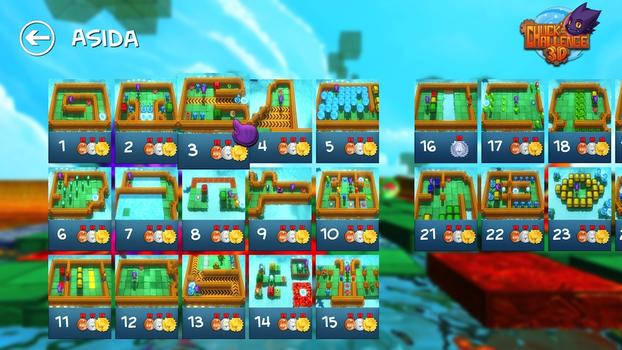 Chuck's Challenge 3D on PC screenshot #1