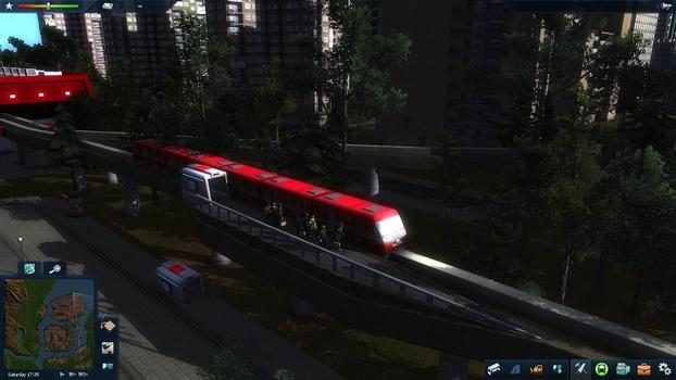 Cities in Motion 2: Marvellous Monorails DLC on PC screenshot #1
