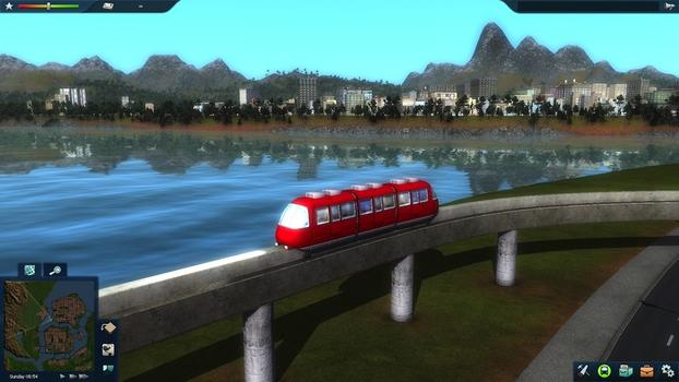 Cities in Motion 2: Marvellous Monorails DLC on PC screenshot #9