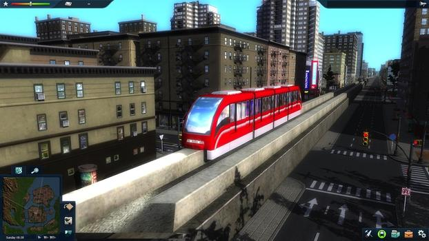 Cities in Motion 2: Marvellous Monorails DLC on PC screenshot #8