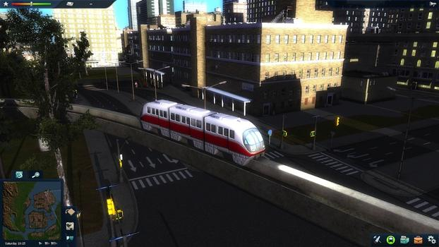 Cities in Motion 2: Marvellous Monorails DLC on PC screenshot #5