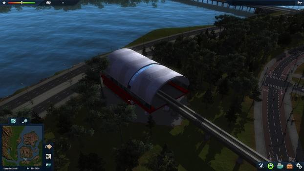 Cities in Motion 2: Marvellous Monorails DLC on PC screenshot #2
