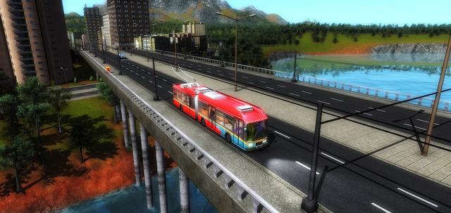 Cities in Motion 2: Trekking Trolleys on PC screenshot #3