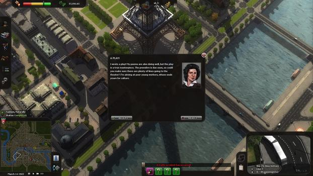 Cities in Motion: Paris on PC screenshot #2