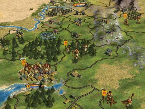 Sid Meier's Civilization® IV: Warlords (MAC) on PC screenshot #3