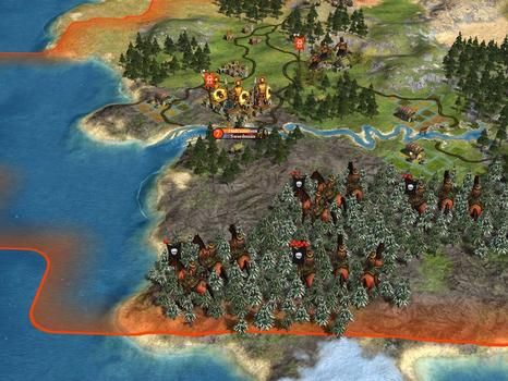 Sid Meier's Civilization® IV: Warlords (MAC) on PC screenshot #2