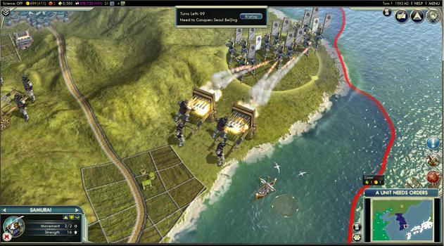 Sid Meier's Civilization® V: Civilization and Scenario Pack: Korea (MAC) on PC screenshot #4