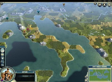 Sid Meier's Civilization® V: Cradle of Civilization - Mediterranean (MAC) on PC screenshot #1
