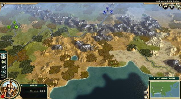 Sid Meier's Civilization® V: Scrambled Continents on PC screenshot #3