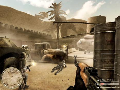 Code of Honor: The French Foreign Legion on PC screenshot #1