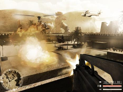 Code of Honor: The French Foreign Legion on PC screenshot #3