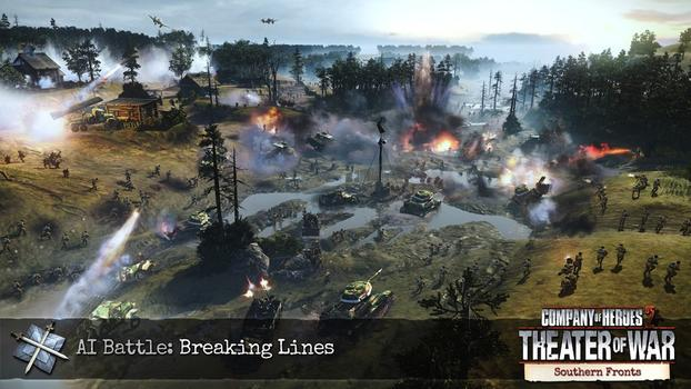 Company of Heroes 2: Southern Fronts DLC on PC screenshot #1