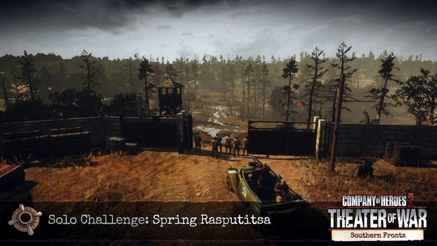 Company of Heroes 2: Southern Fronts DLC on PC screenshot #9