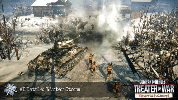 Company of Heroes 2: Victory at Stalingrad DLC on PC screenshot #1