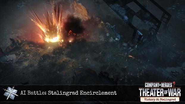 Company of Heroes 2: Victory at Stalingrad DLC on PC screenshot #8
