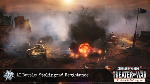 Company of Heroes 2: Victory at Stalingrad DLC on PC screenshot #6