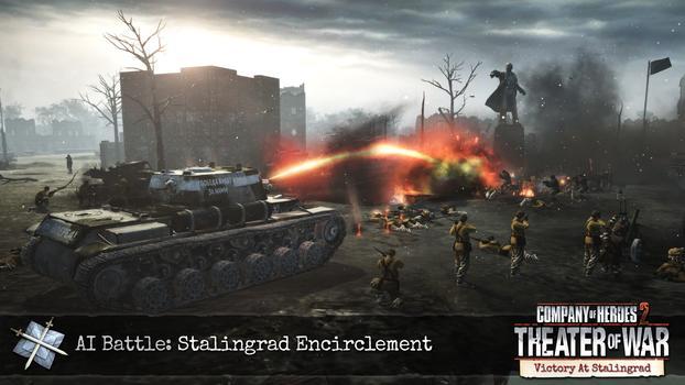 Company of Heroes 2: Victory at Stalingrad DLC on PC screenshot #5