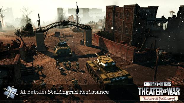 Company of Heroes 2: Victory at Stalingrad DLC on PC screenshot #2