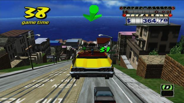 Crazy Taxi on PC screenshot #3