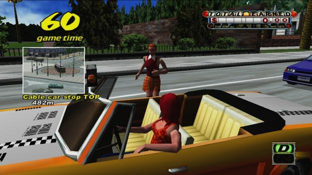 Crazy Taxi on PC screenshot #1
