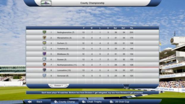 Cricket Captain 2014 on PC screenshot #3