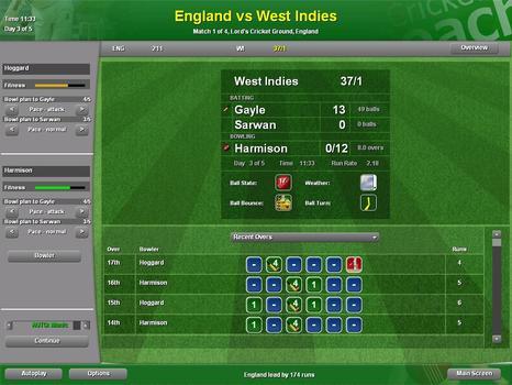 Cricket Coach 2007 on PC screenshot #2