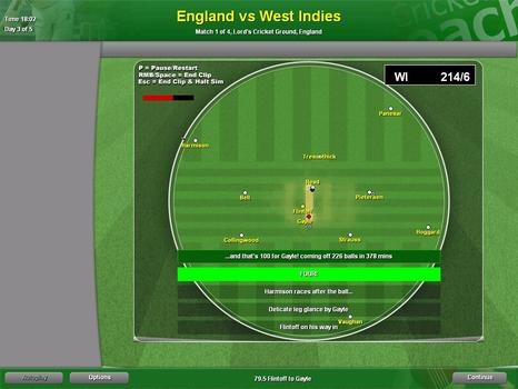 Cricket Coach 2007 on PC screenshot #4
