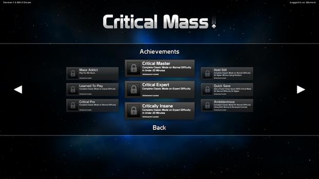 Critical Mass on PC screenshot #5