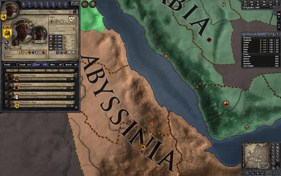 Crusader Kings II: African Portraits on PC screenshot #2